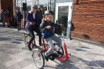 Einweihung Co-Pilot Fahrrad